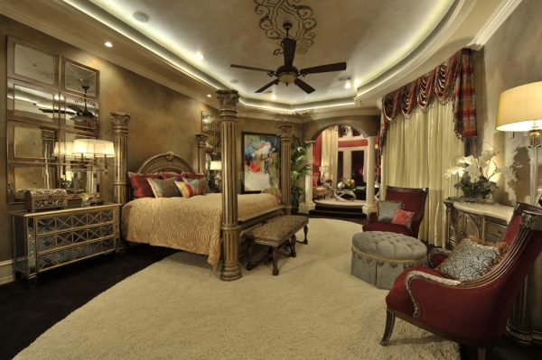bedroom decorating ideas and designs Remodels Photos The Design Firm Stafford Texas United States traditional-bedroom-004