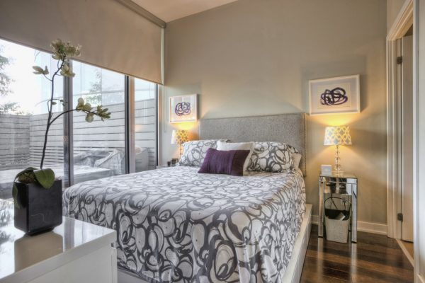 bedroom decorating ideas and designs Remodels Photos Toronto Condo Staging and Design Inc. Pickering  Ontario, Canada contemporary-bedroom-001