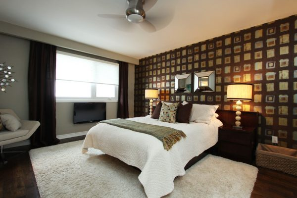 bedroom decorating ideas and designs Remodels Photos Toronto Condo Staging and Design Inc. Pickering  Ontario, Canada contemporary-bedroom-006