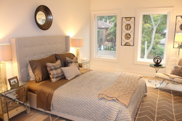 bedroom decorating ideas and designs Remodels Photos Toronto Condo Staging and Design Inc. Pickering  Ontario, Canada transitional-bedroom-001