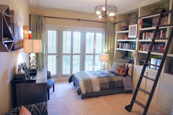 bedroom decorating ideas and designs Remodels Photos Turnstyle Design Austin Texas united states eclectic-bedroom