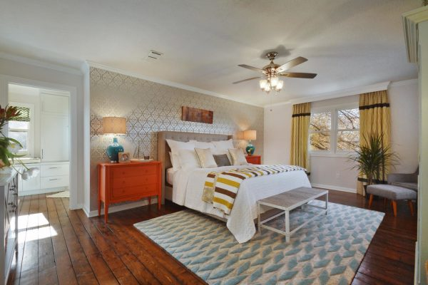bedroom decorating ideas and designs Remodels Photos Turnstyle Design Austin Texas united states transitional-bedroom-001