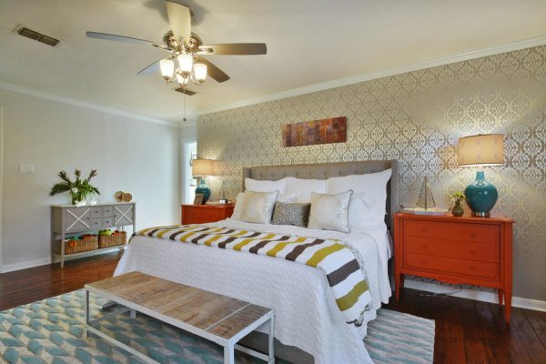 bedroom decorating ideas and designs Remodels Photos Turnstyle Design Austin Texas united states transitional-bedroom-003