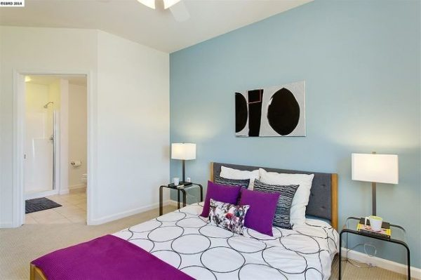 bedroom decorating ideas and designs Remodels Photos Visual Jill Interior Decorating Berkeley California united states modern-bedroom-004