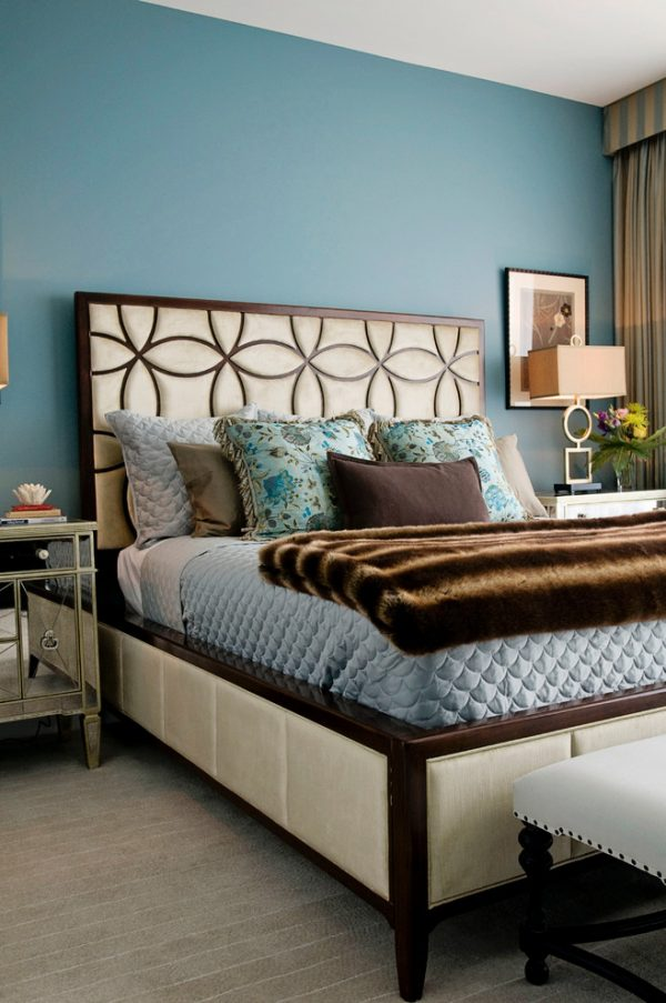 bedroom decorating ideas and designs Remodels Photos Woodson & Rummerfield's House of Design Los Angeles California contemporary-bedroom-003