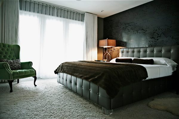 bedroom decorating ideas and designs Remodels Photos Woodson & Rummerfield's House of Design Los Angeles California contemporary-bedroom-004