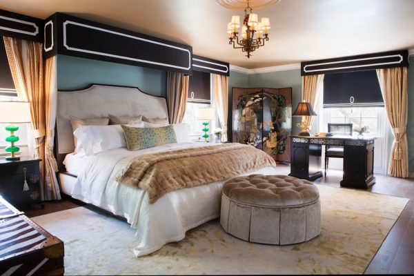 bedroom decorating ideas and designs Remodels Photos Woodson & Rummerfield's House of Design Los Angeles California contemporary-bedroom-005