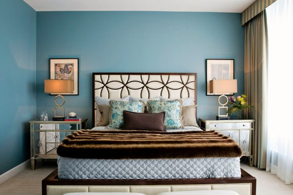 bedroom decorating ideas and designs Remodels Photos Woodson & Rummerfield's House of Design Los Angeles California contemporary-bedroom-006