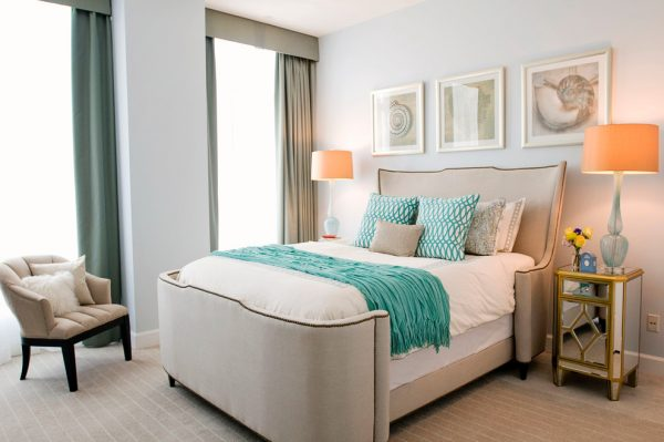 bedroom decorating ideas and designs Remodels Photos Woodson & Rummerfield's House of Design Los Angeles California contemporary-bedroom
