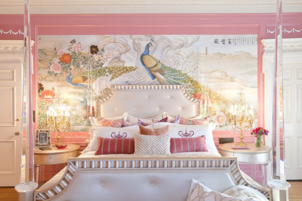 bedroom decorating ideas and designs Remodels Photos Woodson & Rummerfield's House of Design Los Angeles California eclectic-bedroom