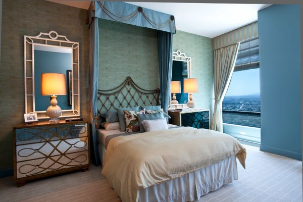 bedroom decorating ideas and designs Remodels Photos Woodson & Rummerfield's House of Design Los Angeles California eclectic-living-room
