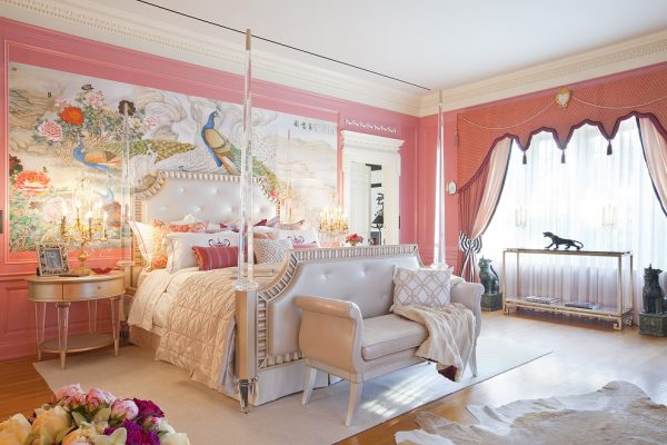 bedroom decorating ideas and designs Remodels Photos Woodson & Rummerfield's House of Design Los Angeles California victorian-bedroom