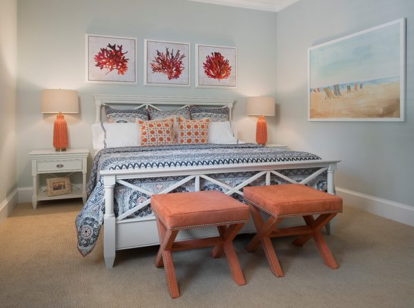 bedroom decorating ideas and designs Remodels Photos Wright Interior Group Naples Florida United States beach-style