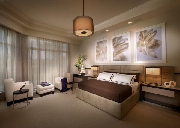 bedroom decorating ideas and designs Remodels Photos b+g design inc.Fort Lauderdale Florida united states contemporary-bedroom-005