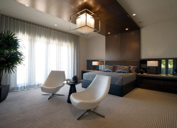 bedroom decorating ideas and designs Remodels Photos b+g design inc.Fort Lauderdale Florida united states contemporary-chandeliers