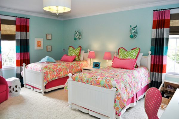 bedroom decorating ideas and designs Remodels Photos evaru design Charlotte North Carolina United States contemporary-kids-003