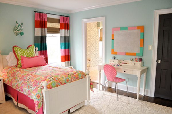 bedroom decorating ideas and designs Remodels Photos evaru design Charlotte North Carolina United States contemporary-kids