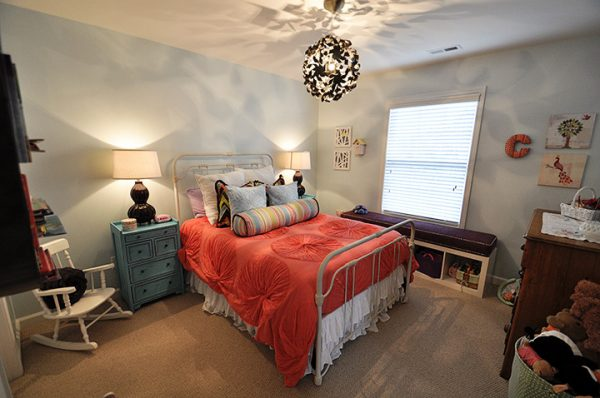 bedroom decorating ideas and designs Remodels Photos evaru design Charlotte North Carolina United States eclectic-kids-001