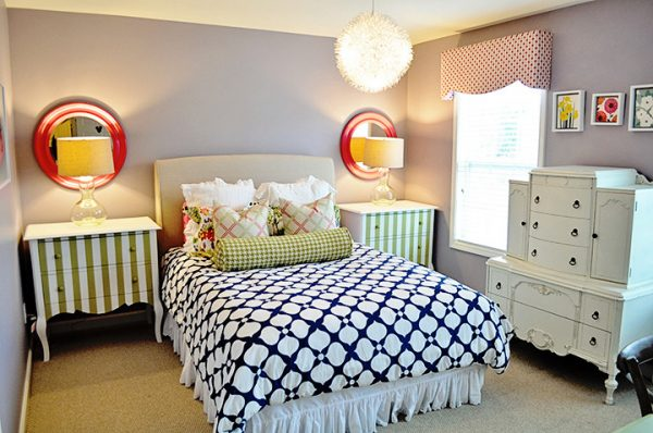 bedroom decorating ideas and designs Remodels Photos evaru design Charlotte North Carolina United States eclectic-kids-002