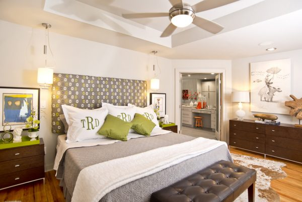 bedroom decorating ideas and designs Remodels Photos iSpace, LLC Fayetteville Arkansas united states modern-bedroom