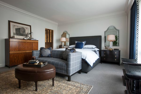bedroom decorating ideas and designs Remodels Photos jamesthomas InteriorsChicago Illinois United States transitional-bedroom