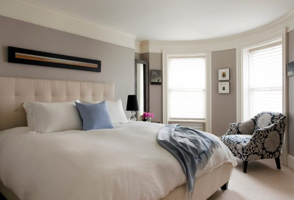 bedroom decorating ideas and designs Remodels Photos kelly mcguill home Walpole Massachusetts united states contemporary-bedroom