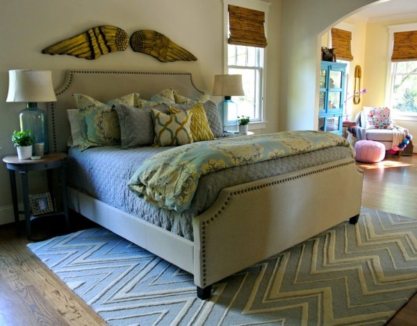 bedroom decorating ideas and designs Remodels Photos the redesign company Davidson North Carolina United States eclectic-bedroom-004