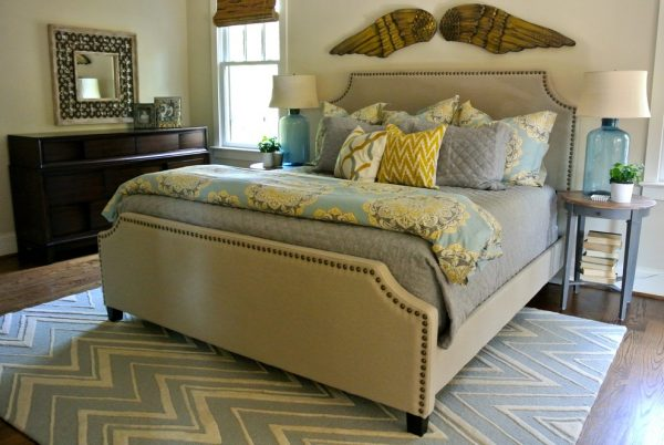 bedroom decorating ideas and designs Remodels Photos the redesign company Davidson North Carolina United States eclectic-bedroom-005