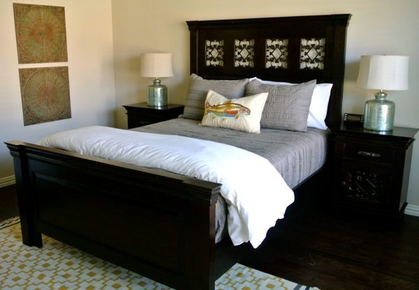 bedroom decorating ideas and designs Remodels Photos the redesign company Davidson North Carolina United States eclectic-bedroom