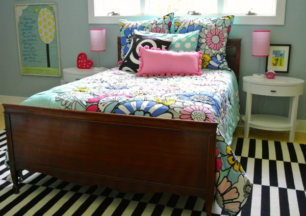 bedroom decorating ideas and designs Remodels Photos the redesign company Davidson North Carolina United States eclectic-kids