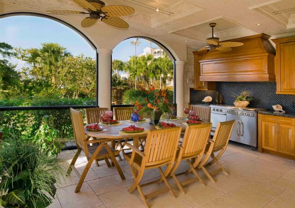 dining room decorating ideas and designs Remodels Photos 41 West Naples Florida United States contemporary-porch