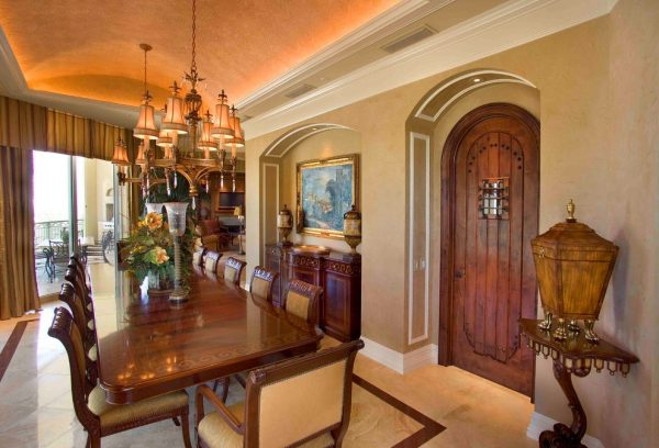 dining room decorating ideas and designs Remodels Photos 41 West Naples Florida United States mediterranean-dining-room