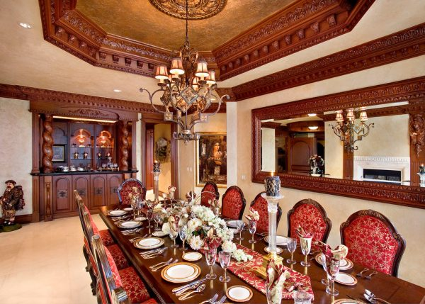 dining room decorating ideas and designs Remodels Photos 41 West Naples Florida United States traditional-dining-room-004