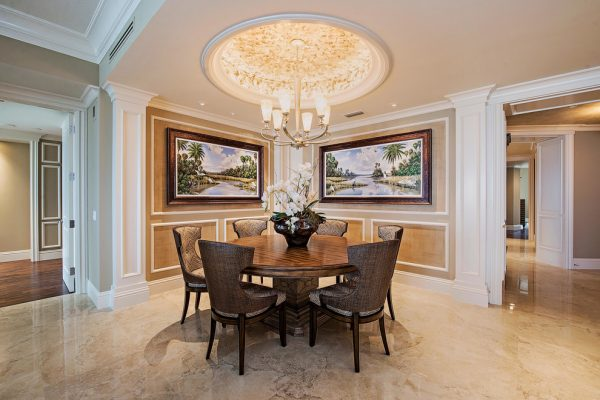 dining room decorating ideas and designs Remodels Photos 41 West Naples Florida United States transitional