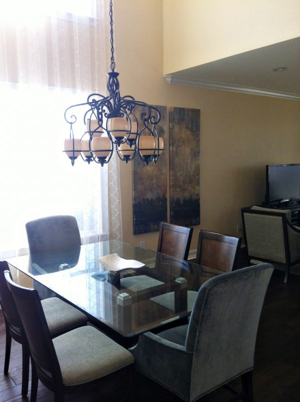 dining room decorating ideas and designs Remodels Photos A.Clore Interiors Sanford Florida United States contemporary-dining-room-001