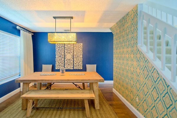 dining room decorating ideas and designs Remodels Photos A.Clore Interiors Sanford Florida United States contemporary-dining-room-002