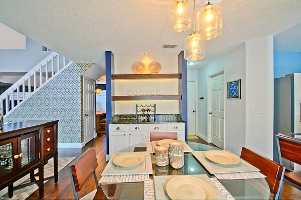 dining room decorating ideas and designs Remodels Photos A.Clore Interiors Sanford Florida United States contemporary-kitchen