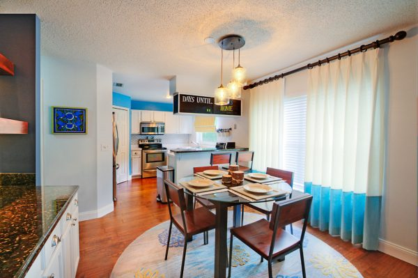 dining room decorating ideas and designs Remodels Photos A.Clore Interiors Sanford Florida United States eclectic-kitchen