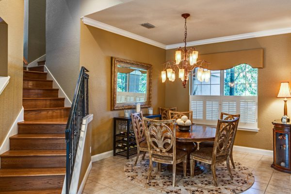 dining room decorating ideas and designs Remodels Photos A.Clore Interiors Sanford Florida United States traditional-dining-room-001