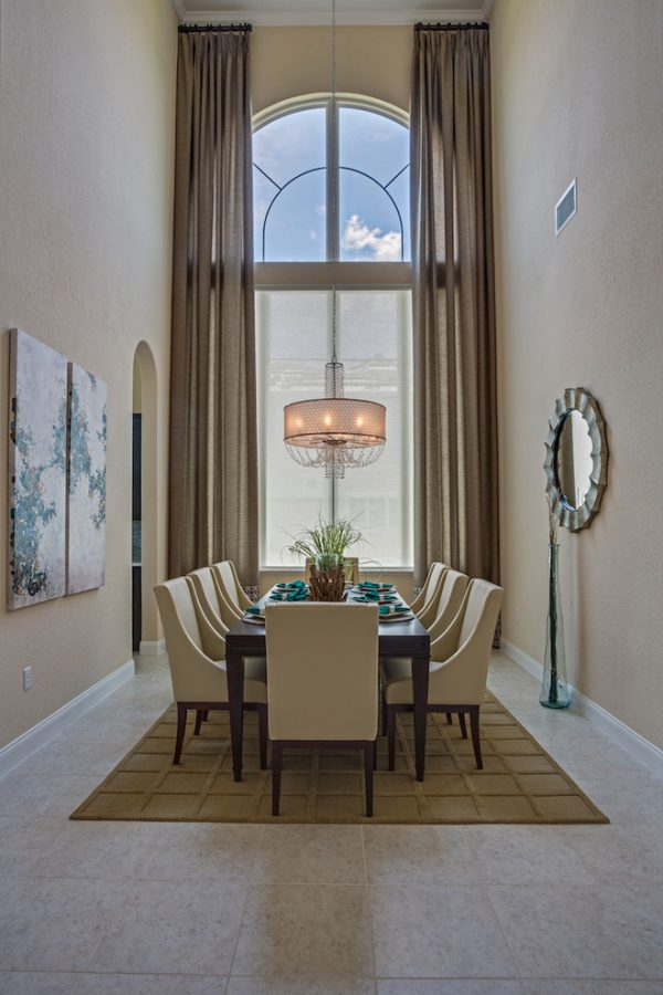 dining room decorating ideas and designs Remodels Photos A.Clore Interiors Sanford Florida United States tropical-dining-room-001