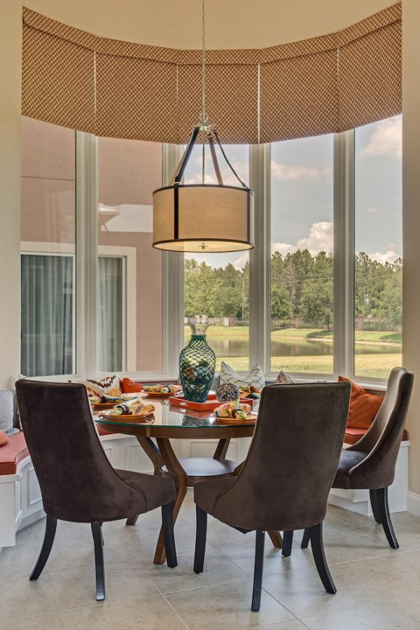 dining room decorating ideas and designs Remodels Photos A.Clore Interiors Sanford Florida United States tropical-kitchen