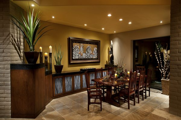 dining room decorating ideas and designs Remodels Photos AB Design Elements, LLC Scottsdale Arizona United States contemporary-dining-room-001