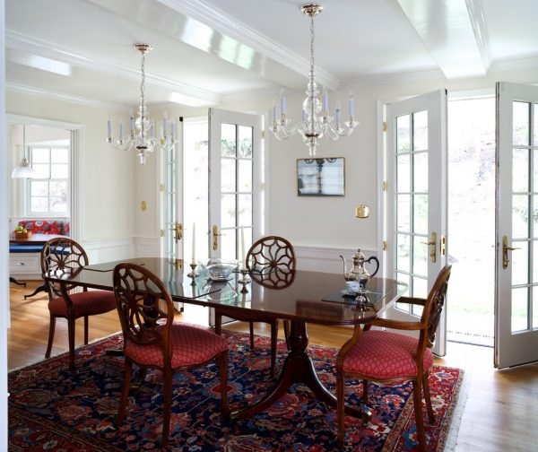 dining room decorating ideas and designs Remodels Photos AHMANN LLC University Park Univers Maryland United States traditional-dining-room