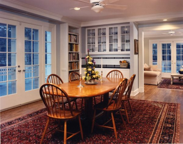 dining room decorating ideas and designs Remodels Photos AHMANN LLC University Park Univers Maryland United States traditional-kitchen