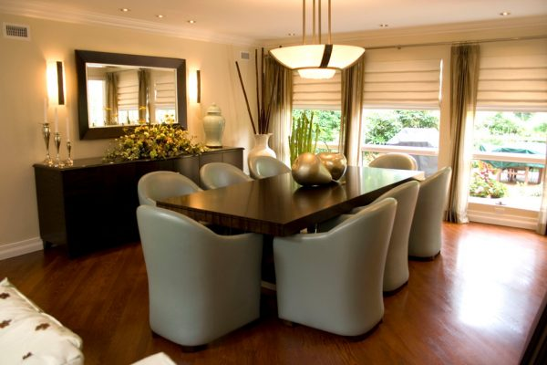 dining room decorating ideas and designs Remodels Photos AMI Designs Huntington New York United States contemporary-dining-room