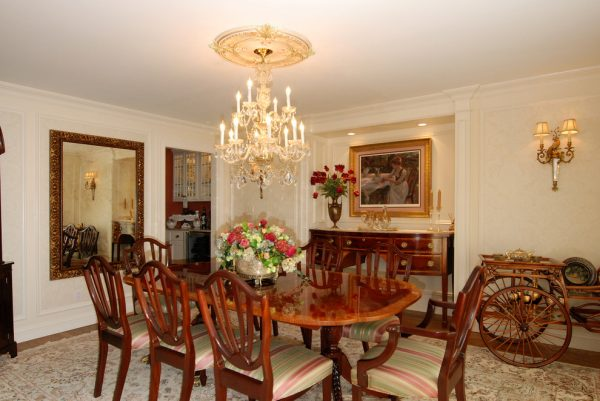 dining room decorating ideas and designs Remodels Photos AMI Designs Huntington New York United States traditional-dining-room-001