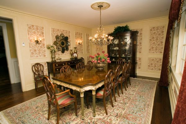 dining room decorating ideas and designs Remodels Photos AMI Designs Huntington New York United States traditional-dining-room-003