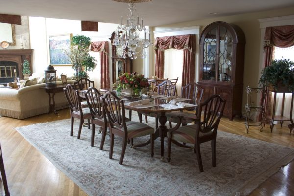 dining room decorating ideas and designs Remodels Photos AMI Designs Huntington New York United States traditional-dining-room-006