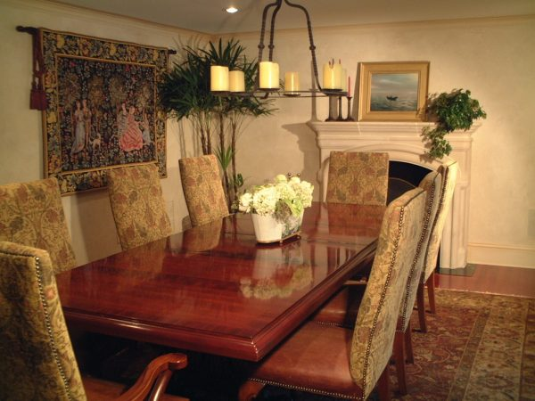 dining room decorating ideas and designs Remodels Photos AMI Designs Huntington New York United States transitional-dining-room