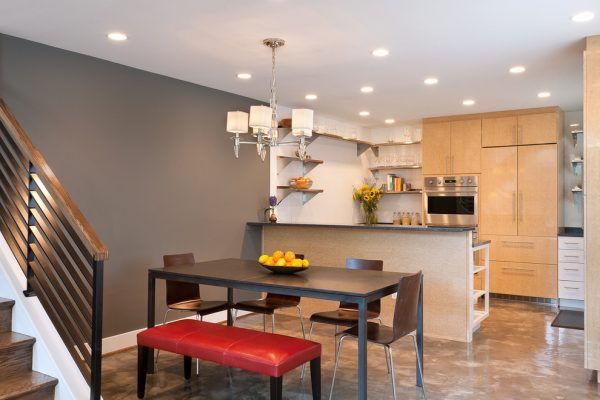 dining room decorating ideas and designs Remodels Photos ART Design Build Bethesda Maryland United States contemporary-kitchen-001